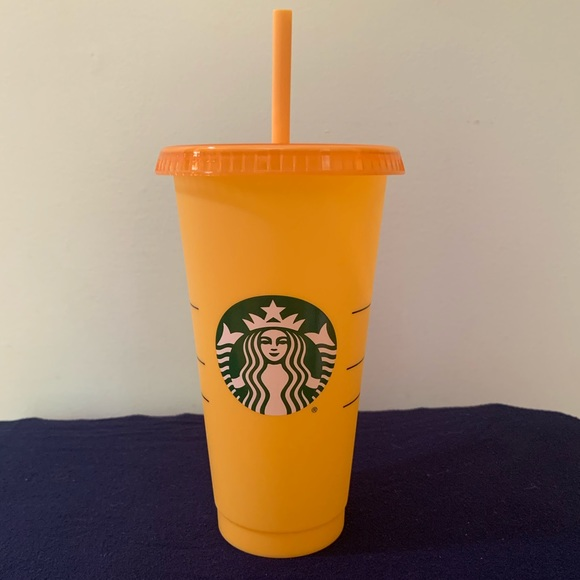 Starbucks Other - Starbucks, color changing cup